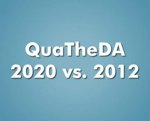 Unterschied QuaTheDA:2020 zu QuaTheDA:2012