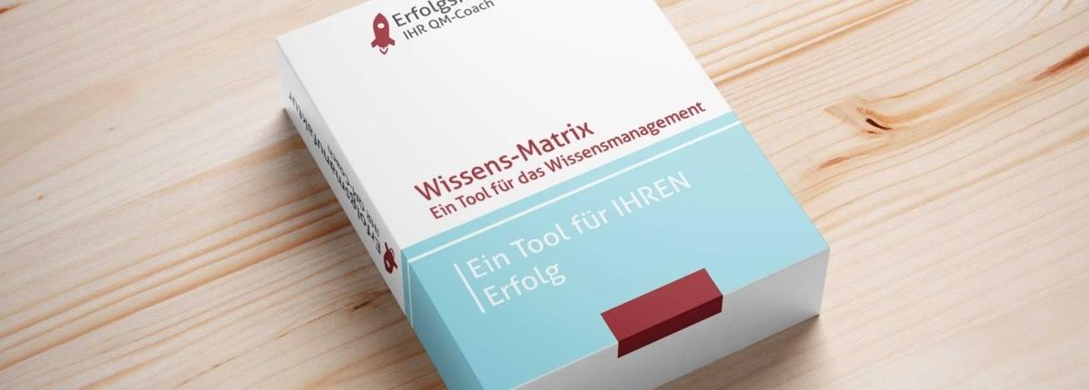 Toolbox Wissensmatrix für das Wissensmanagement